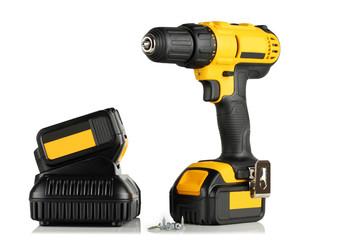 Handheld cordless power drill