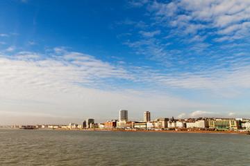 Brighton city, England.