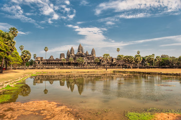 Angkor Wat – a UNESCO World Heritage site in Cambodia