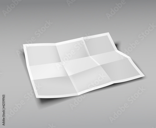 Paper Folded, nine fold for business design