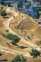 around Jerusalem