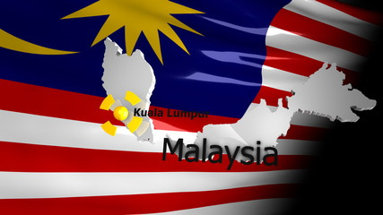 Crisis location map series, Malaysia.
