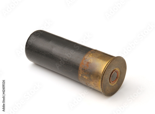bullet isolated on white background