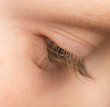 boy's eyes
