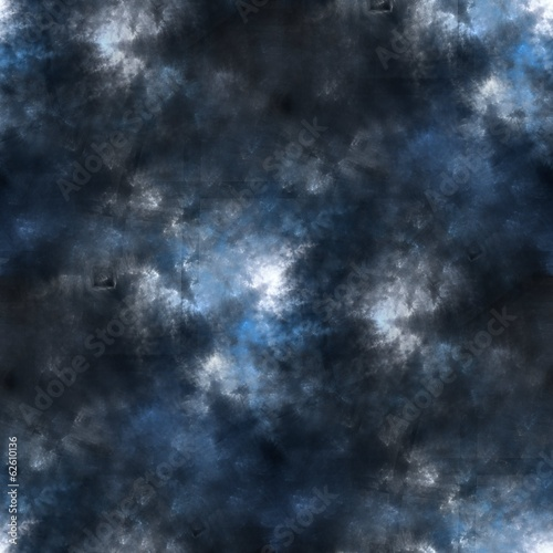 Seamless tileable clouds and lights sky background