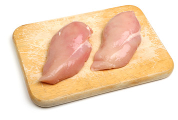 Fresh Raw Chicken Breasts