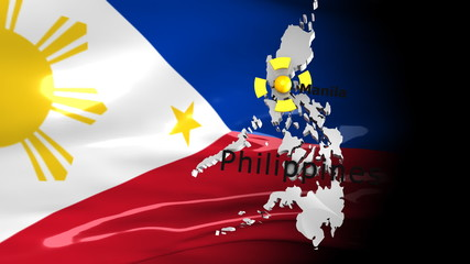 Crisis location map series, Philippines.