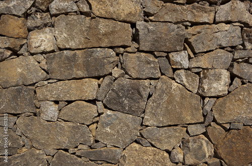 dry stone wall background