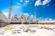Leinwandbild Motiv Sheikh Zayed Mosque, Abu Dhabi, United Arab Emirates