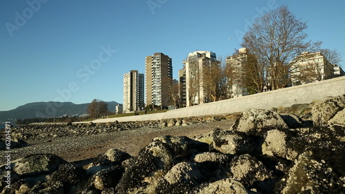 West End Seawall and Towers, Vancouver