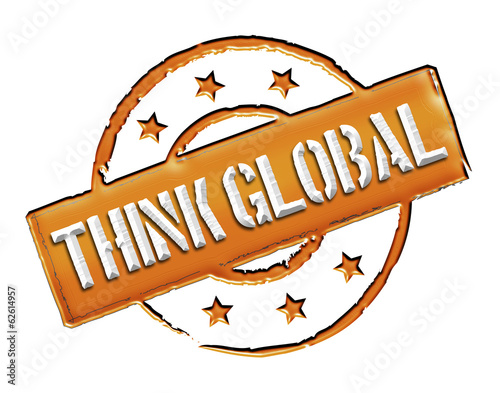 Stamp - think global