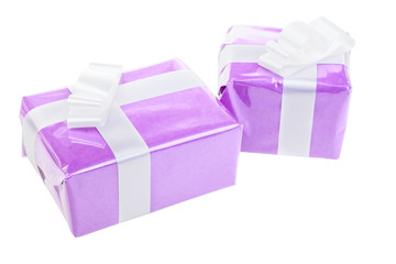 Pair of a gift boxes