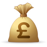 Money Bag Pound Sterling