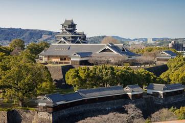 熊本城 本丸御殿と櫓