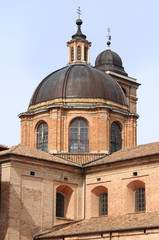 Dome of the cathedral of Urbino, Italy