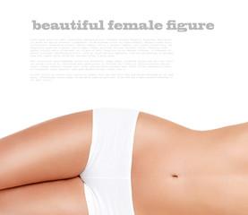 beautiful, slender female figure