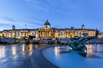 Portrait gallery trafalgar square london