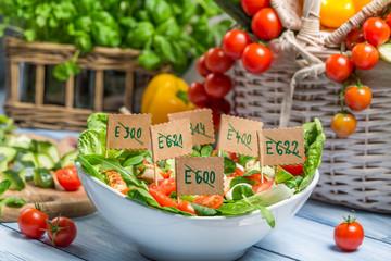 Vegetables without preservatives