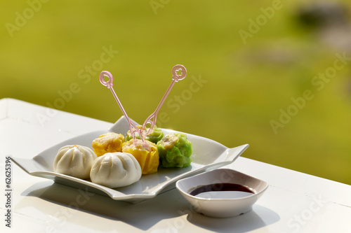Dim Sum, Dumpling and  steamed dumpling