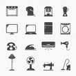 electronic home icons