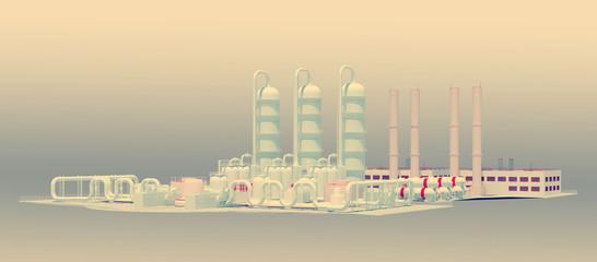 large plant facility