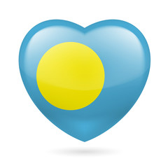 Heart icon of Palau