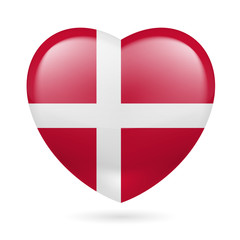 Heart icon of Denmark