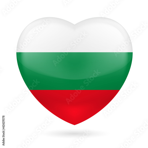Heart icon of Bulgaria