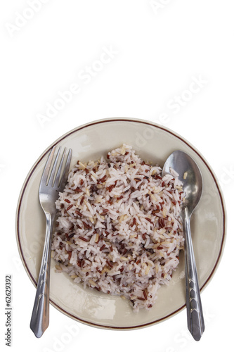 Red rice isolate
