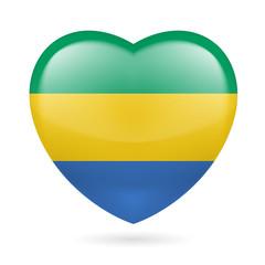 Heart icon of Gabon