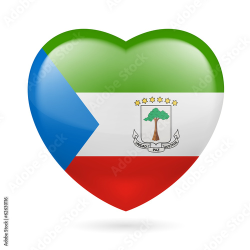 Heart icon of Equatorial Guinea