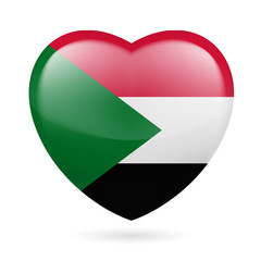 Heart icon of Sudan