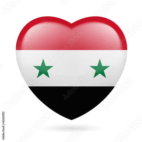 Heart icon of Syria