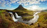 Fototapety Panorama - Iceland landscape