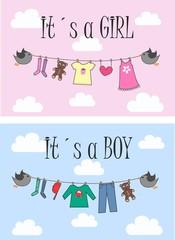 newborn baby or baby shower