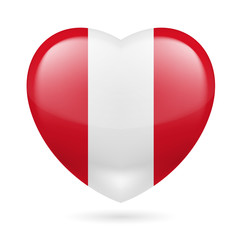 Heart icon of Peru