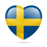 Heart icon of Sweden