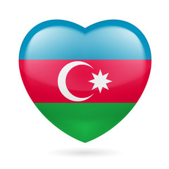 Heart icon of Azerbaijan