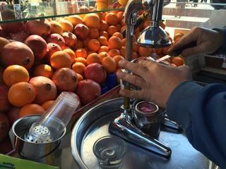 Seyyar Meyve Suyu Satıcısı