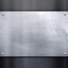 alte metallische Oberfläche