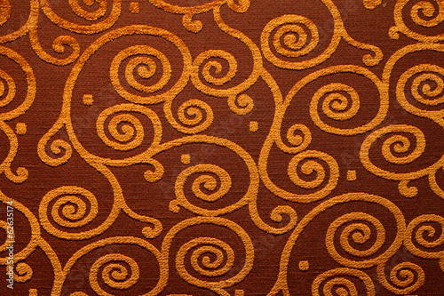 The texture of the textile material of various shapes