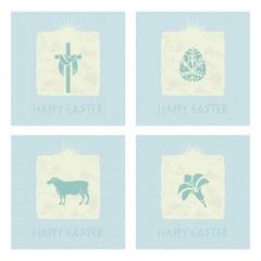 Easter Mini Cards Set