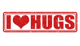 I love hugs stamp