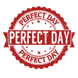 Perfect day stamp