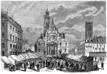 A City Place - View 19th century