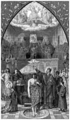 Baptism of Clovis - Medieval : 5th century