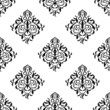 seamless wallpaper.arabesque pattern.floral background
