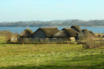 Wikinger Häuser Haithabu