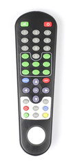 Satellite Receiver Remote control on White background