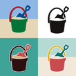 pail and shovel toys set - 62643110